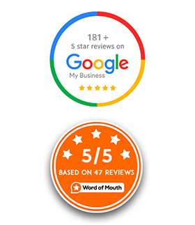 reviews badge